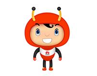 HUA WEI mascot