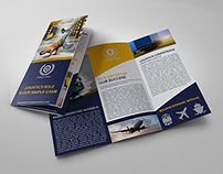 Logistic Services Tri-Fold Brochure Template Vol2