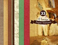 33 Vintage Paper Textures