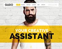 QARO - Clean & Modern WebTemplate