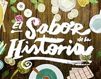 El sabor de la historia - Illustration & V. Development
