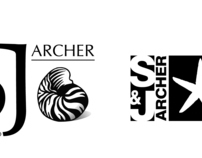 S&J Archer Logo Design