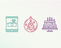 Holiday Icons FREE