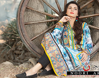 "'Noori Art"" for ROSETTE COLLECTION (LSM Fabrics)"