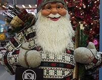 Santa Claus in Asia