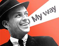"""Frank Sinatra """"My way"""""""