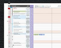 Detailed Calendar MMXV