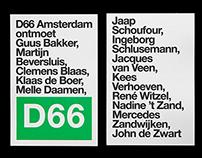 D66 Ontmoet