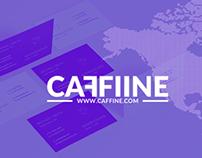 CAFFIINE - Concept & Branding