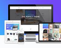 Axes   Multi-Concept Creative PSD Template