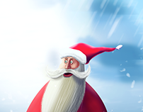 Santa new year 2015