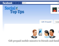 Social TopUp on Facebook.com