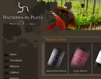 Hacienda del Plata Winery : website