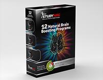 12 Natural Brain  Boosting Programs Box