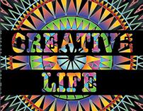 CREATIVE LIFE; Coffee table Book