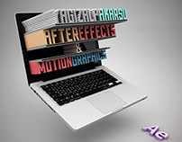 """After Effects & Motion Graphics"" Seminar Poster Design"