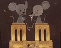 "TRAVEL POSTER for""PARIS"""