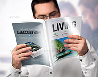 A4 / Brochure Magazine / Mock-Up Set