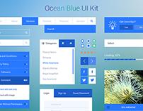 Ocean Blue UI Kit