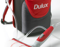 Dulux Weathershield Backpack Roller