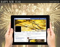 FB Timeline Cover - Happy New Year
