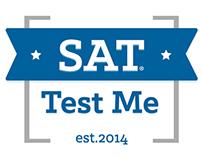 Sat Test Me // Branding & Responsive Web Design