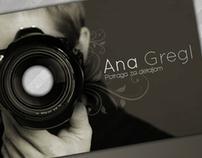 Ana Gregl business card