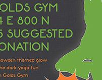 Halloween Glowga Poster