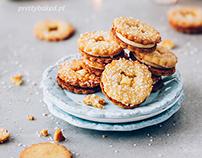 Amaretto & orange cookies