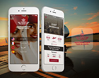 Royal air maroc app UI Design Concept