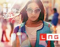 Li-Ning LNG SS 2011 collection graphics
