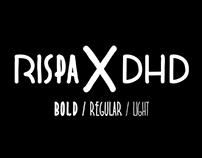 RISPA X DHD Typeface