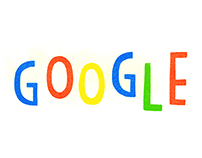 Google Doodle - 2014 New Year's Eve + 2015 New Year Day