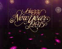 Happy New Year 2015 IDENT