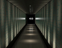 ICG Rebranding Launch Event - Design & 3D Visualisation