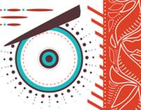Totem Batik for the American Batik Design Competition