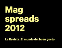 La Revista / Spreads 2012