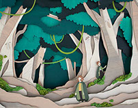 LoTR: The Hobbits meet the Ents