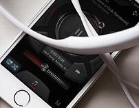 Casio G'MIX Music Player UI Design