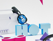 Hot Headphone