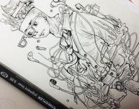 Pen and Pencil Idea Sketch 2014