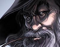 Hobbit / Gandalf - fan art