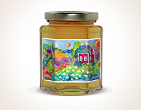 """Branding and Packaging for """"Healthy Bees"""" Åland Honey"""