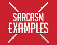 Sarcasm Examples