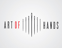 """Art Of Hands"" Logotype"