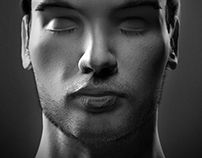 3d Self-Portrait Sculpt