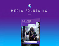 Telstra - Digital Media Fountains