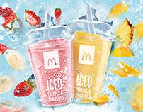 McDonalds Iced Fruit Smoothies app