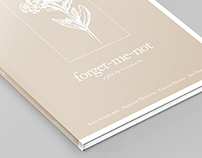Production Book for 'Forget-Me-Not'
