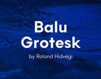 Balu Grotesk Typeface